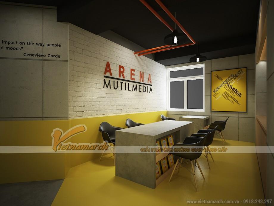 Không gian văn phòng Media