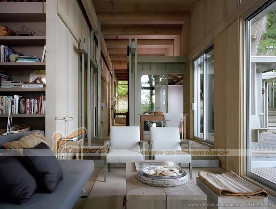 Phong cách thiết kế nội thất mộc mạc (Rustic)