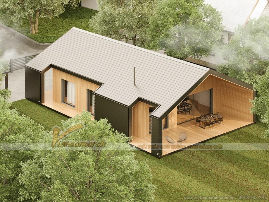 Gợi ý mẫu nhà cấp 4 phù hợp với nhu cầu kinh doanh homestay