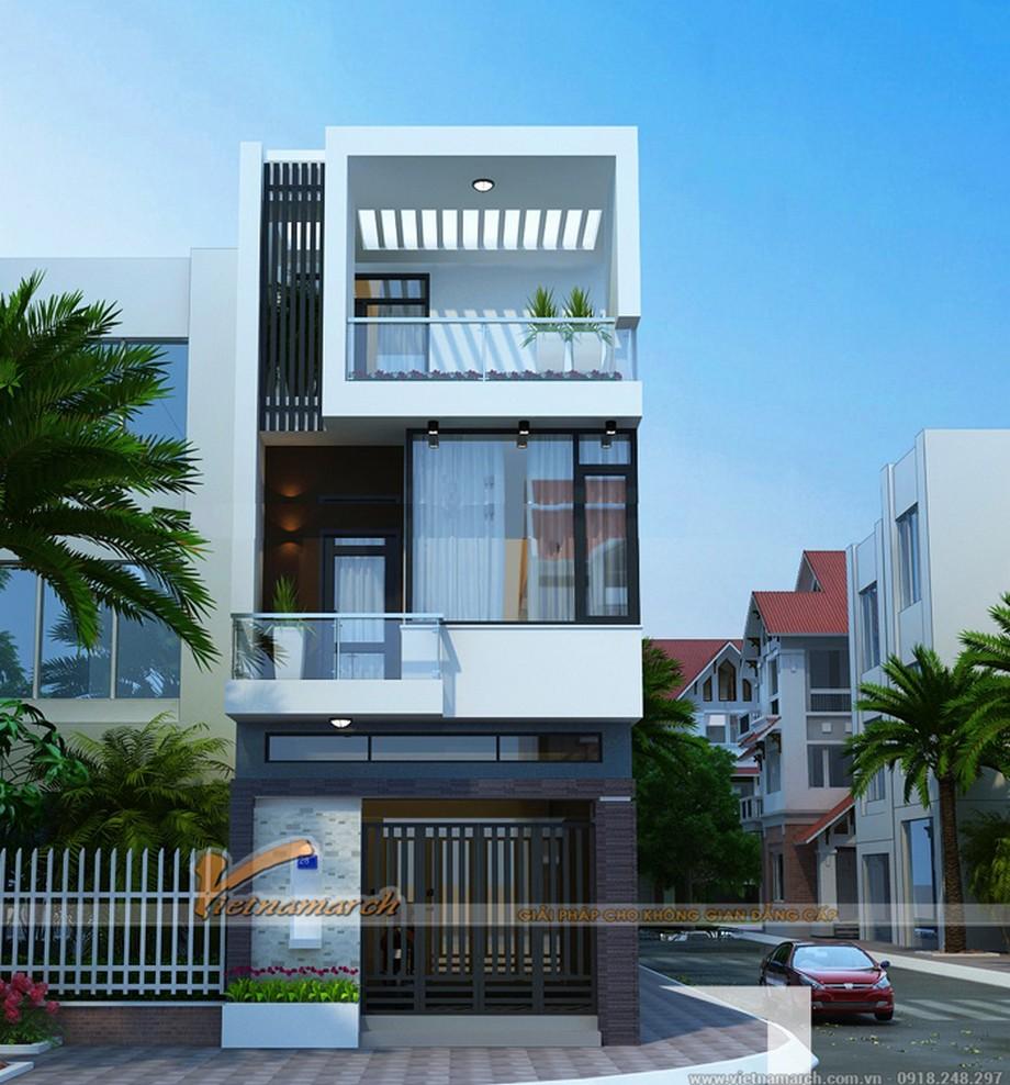 Thiết kế nhà phố đơn giản