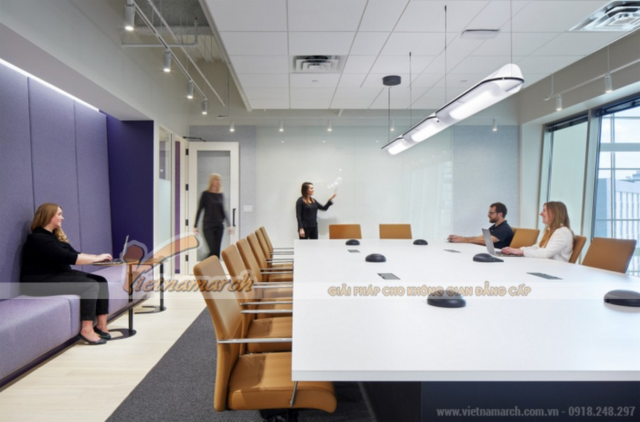 Mẫu văn phòng công ty công nghệ Vanco