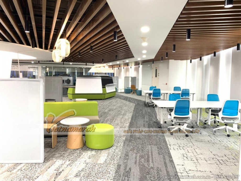 Mẫu văn phòng công ty dịch vụ tư vấn công nghệCapgemini