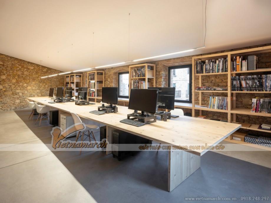 Mẫu thiết kế văn phòng công ty kiến trúc