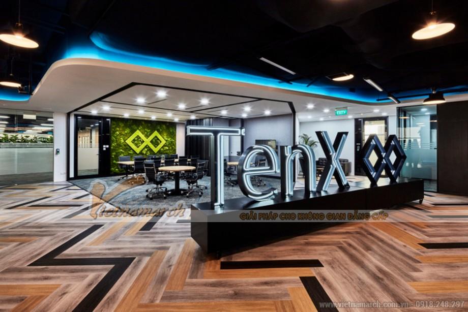 Mẫu văn phòng công ty công nghệ tài chính TENX