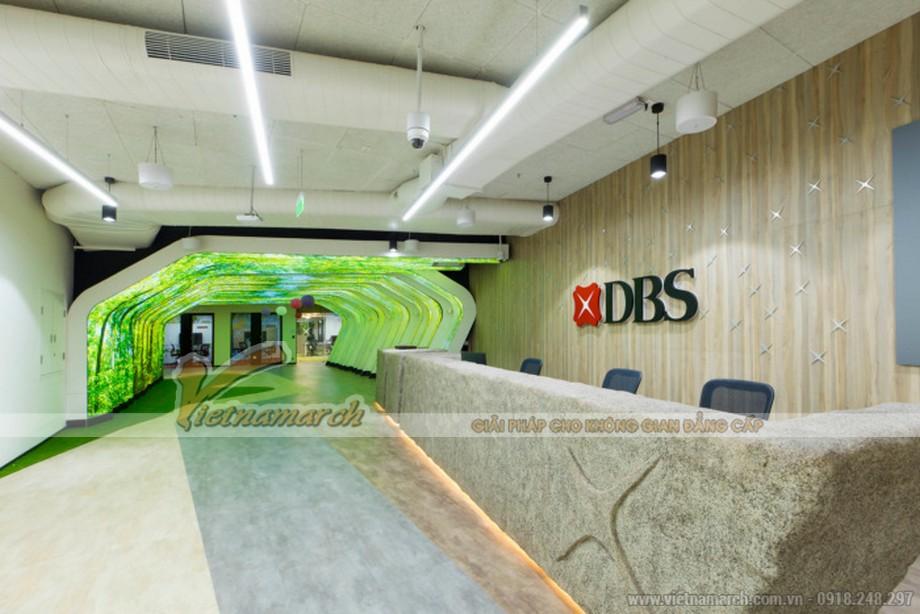 Mẫu thiết kế văn phòng ngân hàng DBS