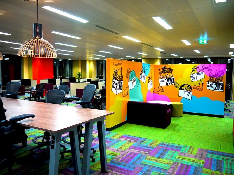 Mẫu thiết kế văn phòng vui nhộn
