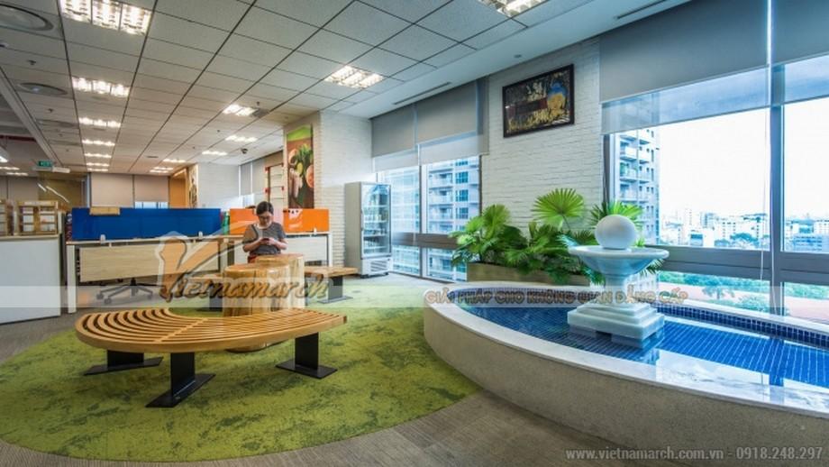 Mẫu trang trí văn phòng công ty thực phẩm đồ uống MASAN CONSUMER