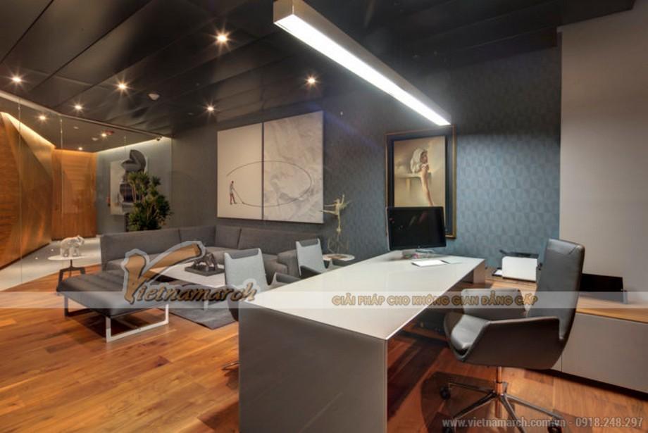 Mẫu trang trí văn phòng sản xuất phim - truyền thông