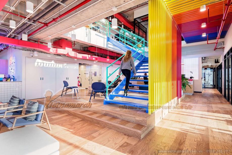 mô hình Coworking Space Lê Văn Lương đẹp