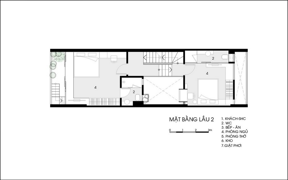 Thiết kế nhà có 2 lớp vỏ độc đáo