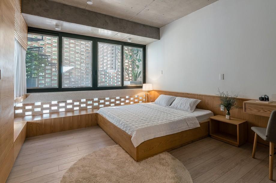 Thiết kế phòng ngủ nhà phố đẹp