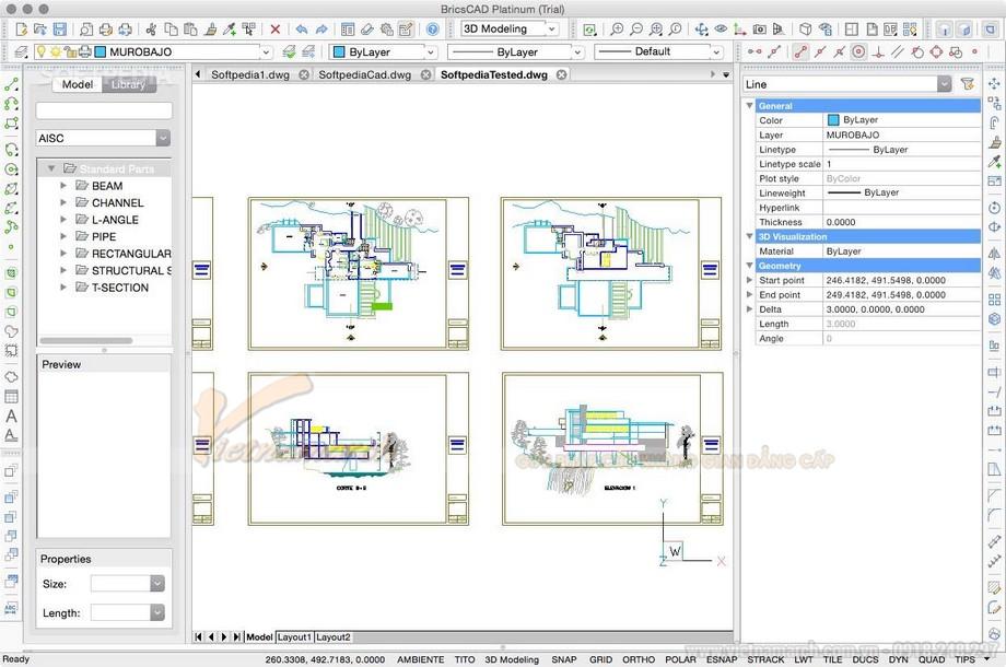 Phần mềm thiết kế nội thất văn phòng 3D