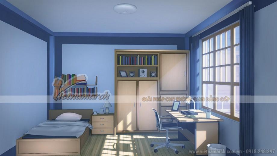 Cách phối màu sơn trần nhà phòng ngủ đẹp nhất 2020