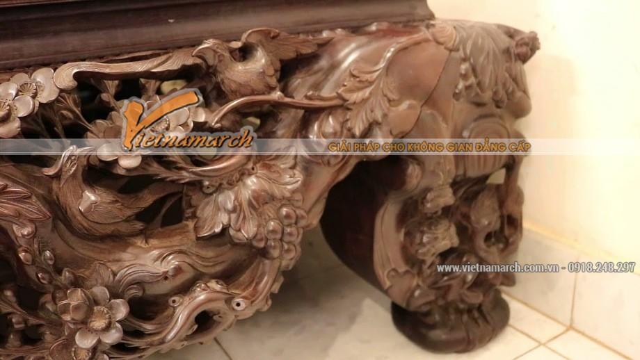 Sập gụ mai điểu và ý nghĩa hình tượng mai điểu trong văn hóa Việt