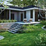 Thiết kế biệt thự nhà vườn 1 tầngđẹp