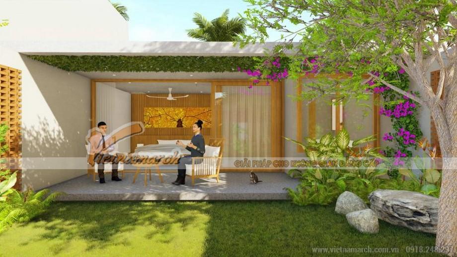 dự án thiết kế biệt thự vườn tại Hậu Giang