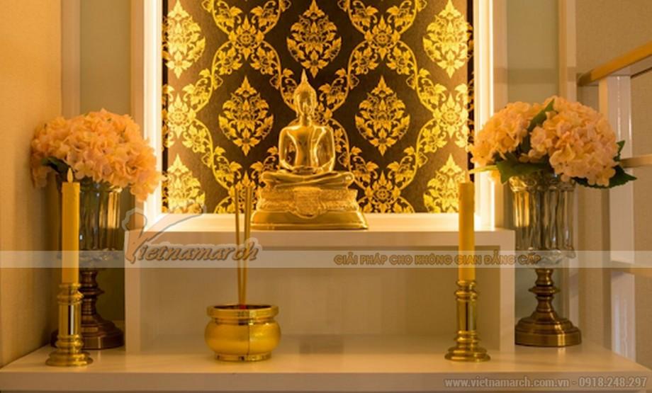 Trang trí nhà thờ họ bằng đèn led ban thờ