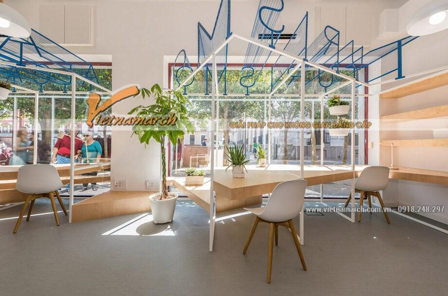 Thiết kế nội thất cao ốc văn phòng