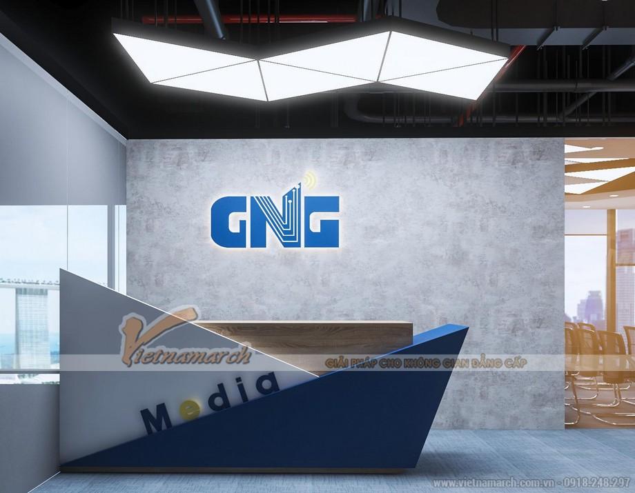 Thiết kế nội thất văn phòng GNG Media