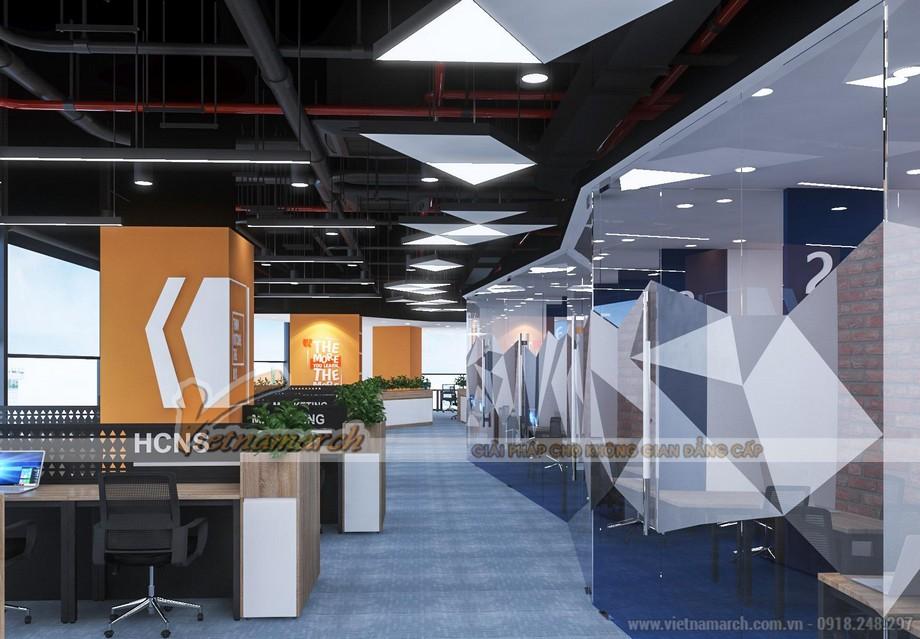 Mẫu thiết kế nội thất văn phòng GNG Media