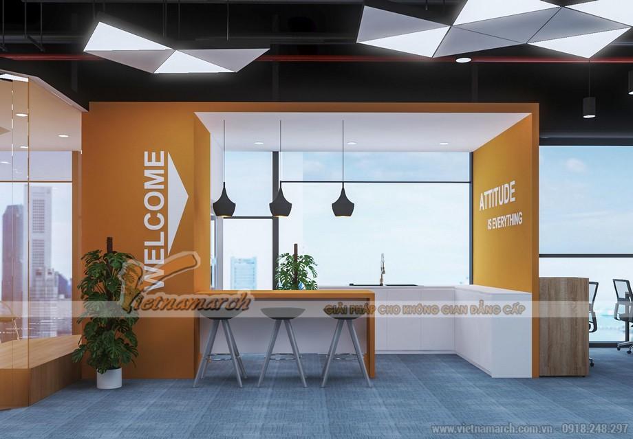 Mẫu thiết kế văn phòng truyền thông GNG media