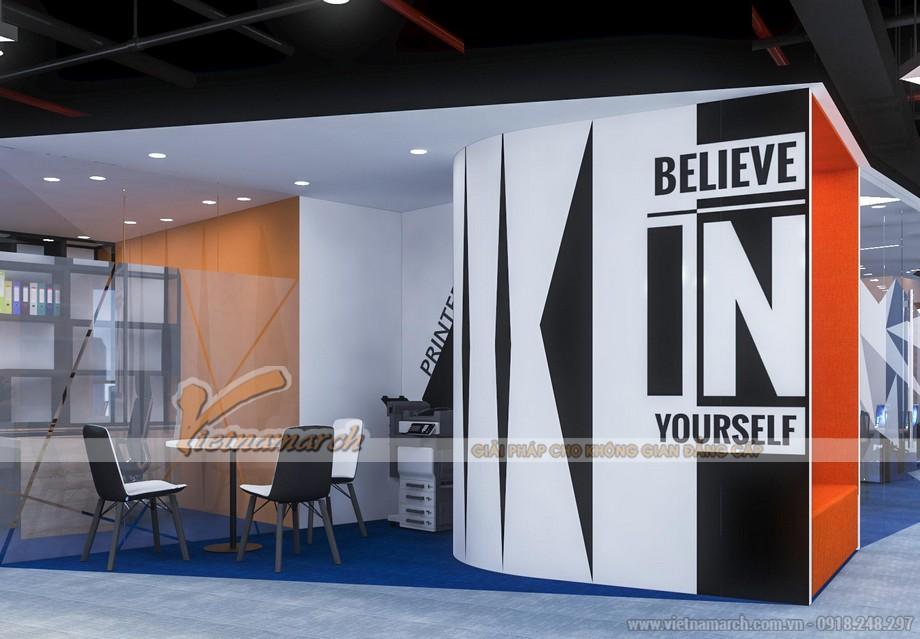 Dự án thiết kế văn phòng GNG media