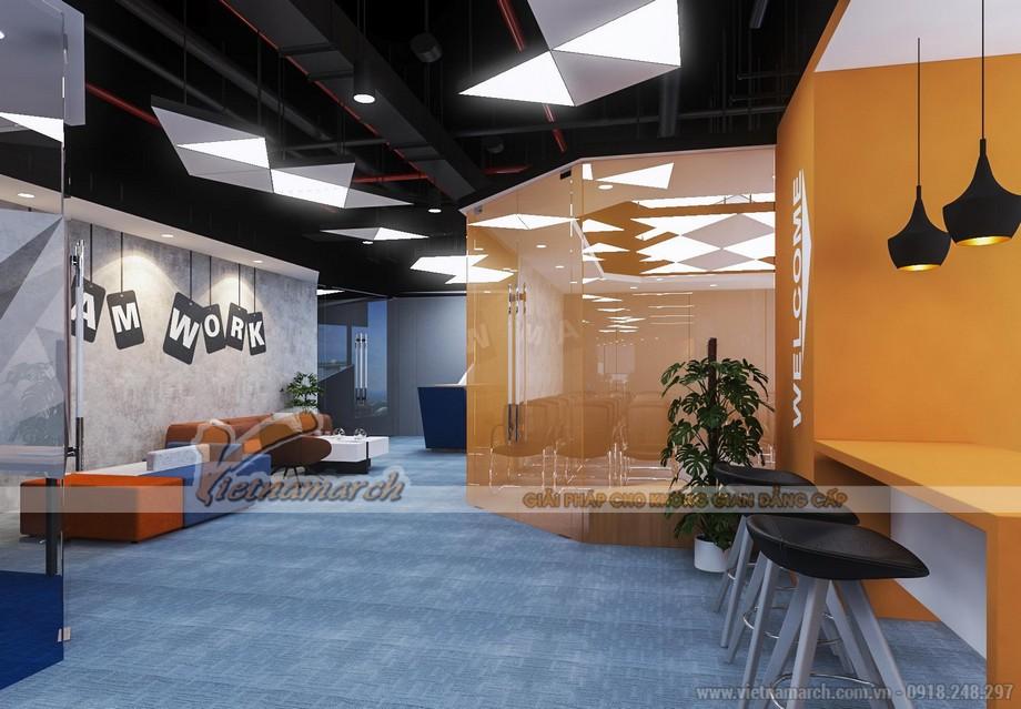 Phối cảnh 3D dự án văn phòng GNG media
