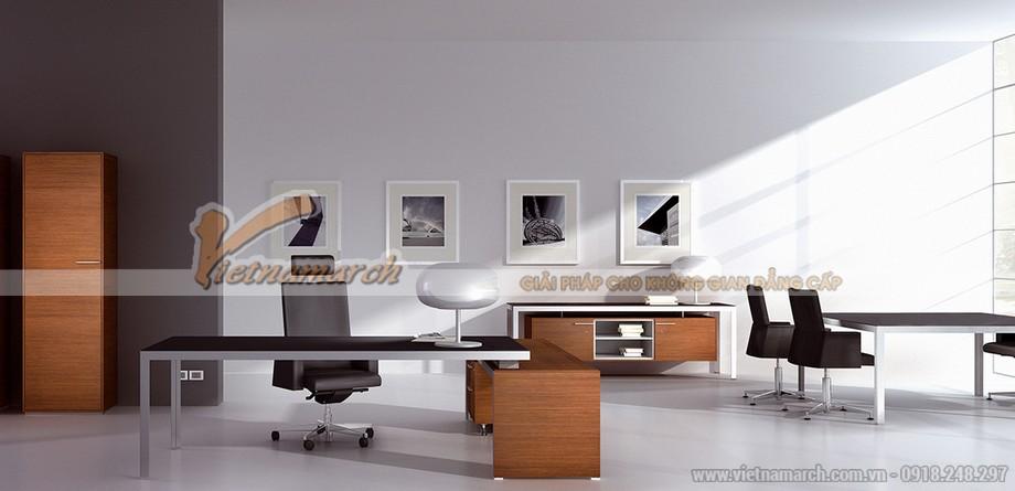 Mẫu thiết kế văn phòng cao cấp đẹp