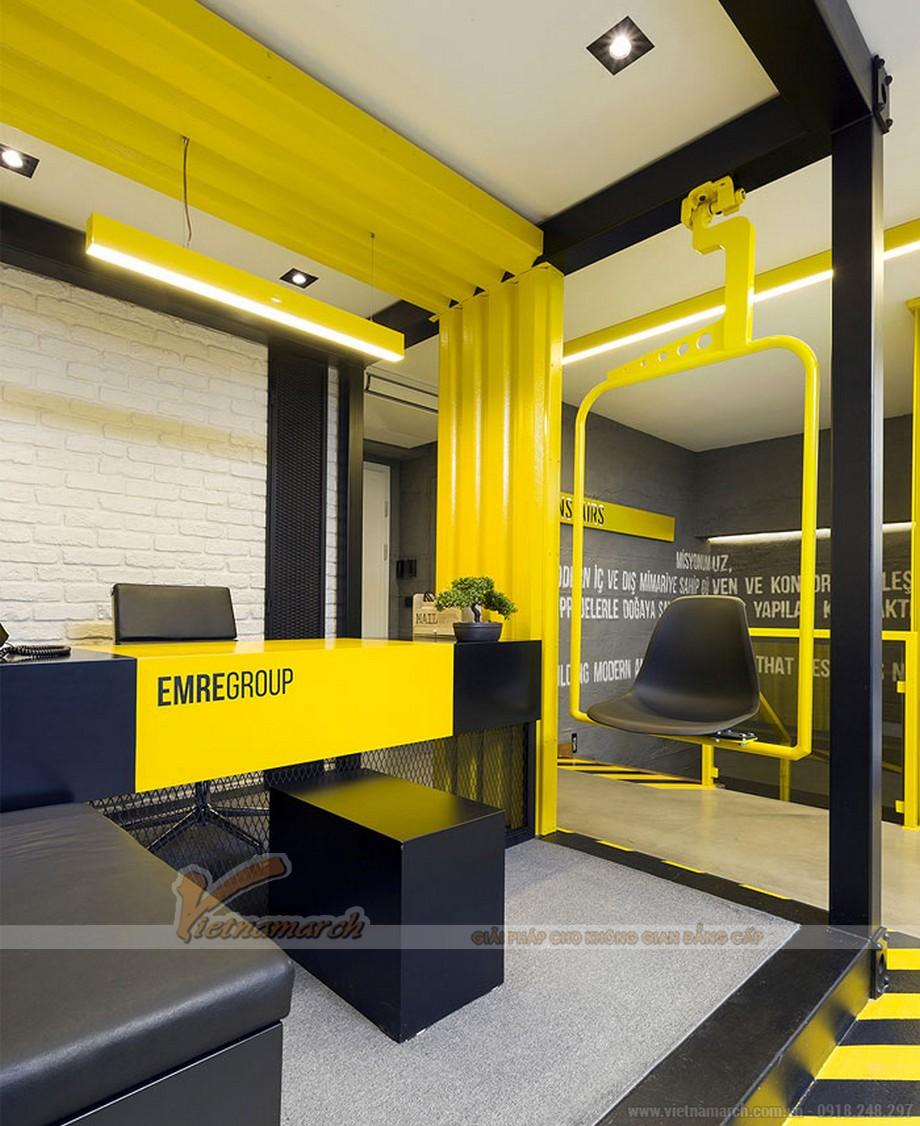 Mẫu thiết kế nội thất văn phòng cao cấp Tập đoàn EMRE GROUP