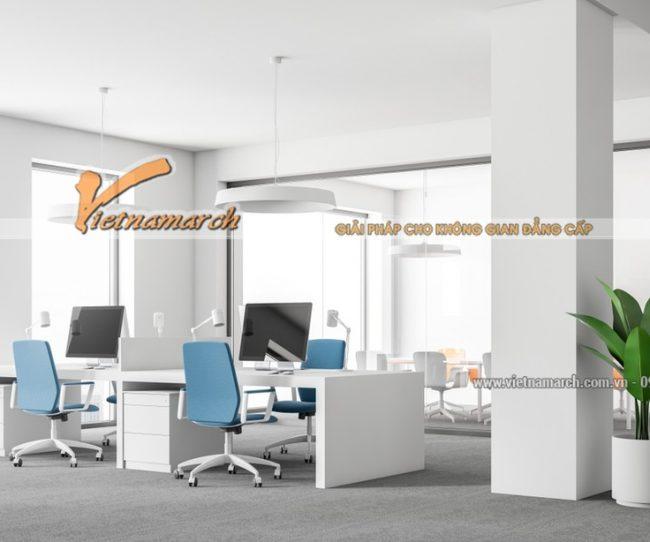 Mẫu thiết kế văn phòng tại Đà Nẵng đẹp
