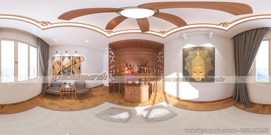 Thiết kế phòng thờ nhỏ 20m2