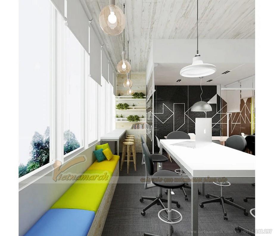 Thiết kế văn phòng diện tích nhỏ 80m2