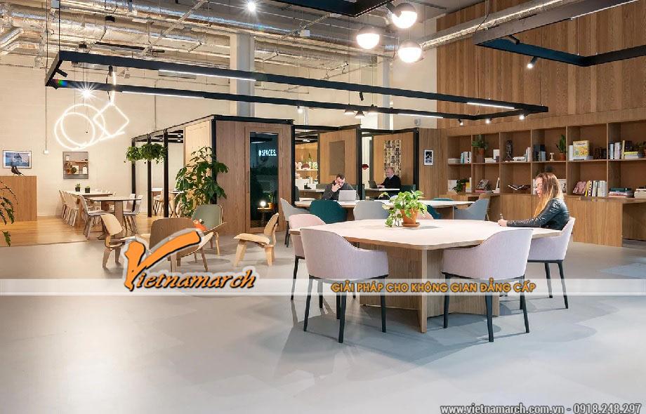 Thiết kế văn phòng chia se tại Hải Phòng
