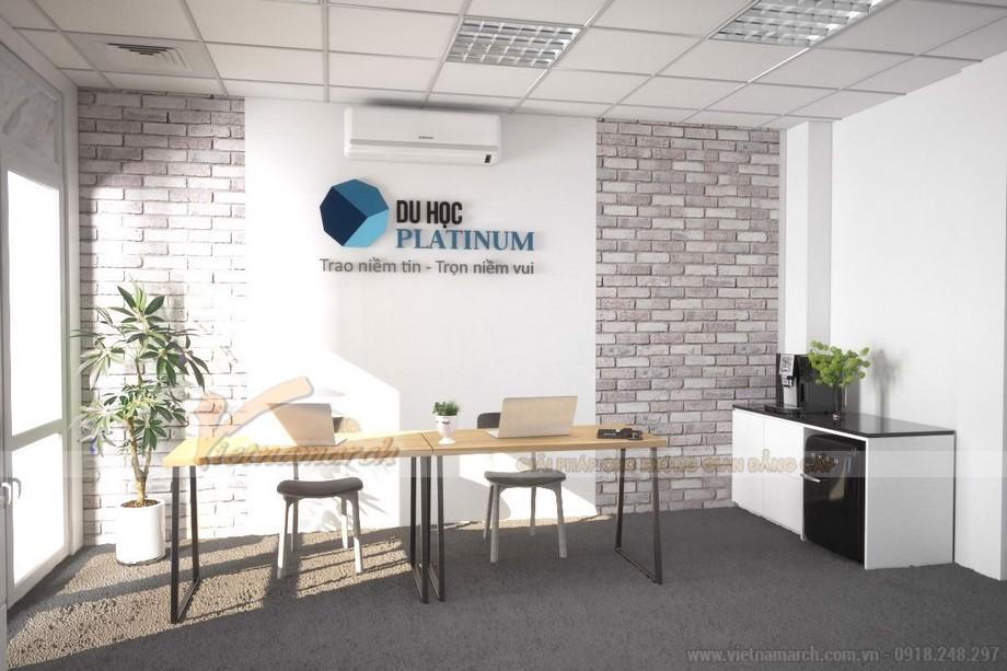 Mẫu văn phòng giao dịch tư vấn du học