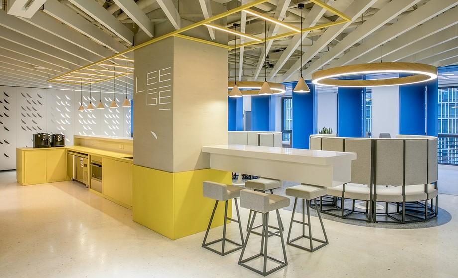 Tiêu chuẩn ánh sang trong thiết kế văn phòng
