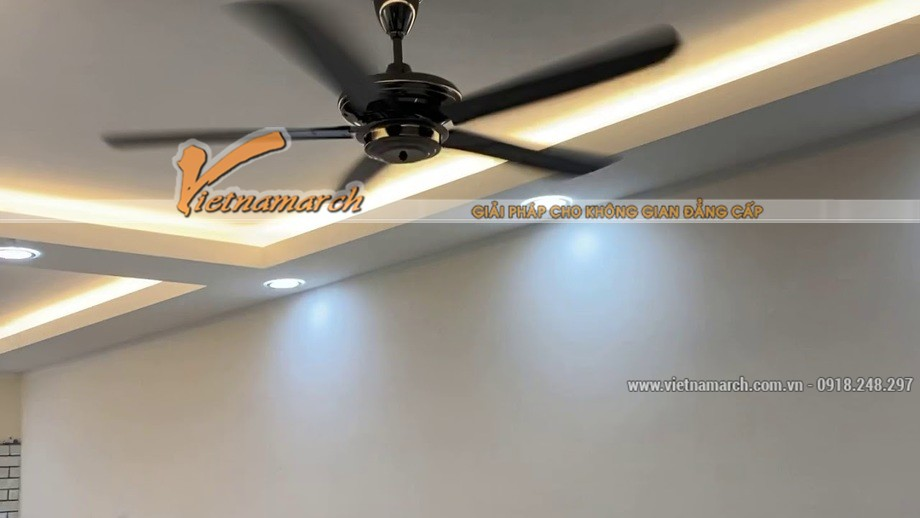 Trần thạch cao chữ L - mẫu trần nhà tương thích với không gian vừa và nhỏ