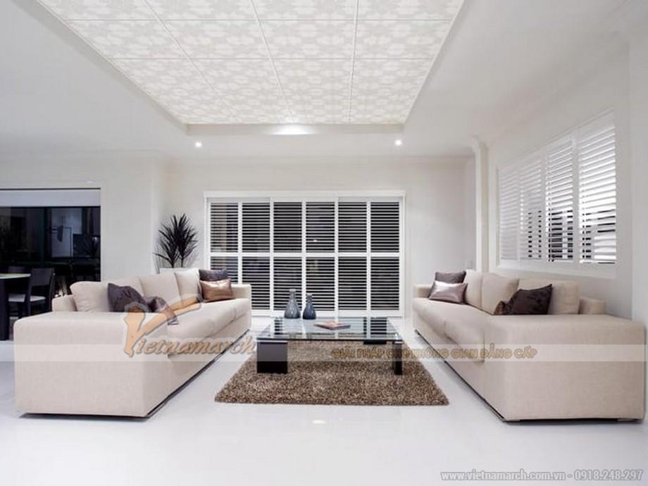 Trần thạch cao cho căn hộ chung cư giúp ngăn chặn rò rỉ nước từ tầng trên