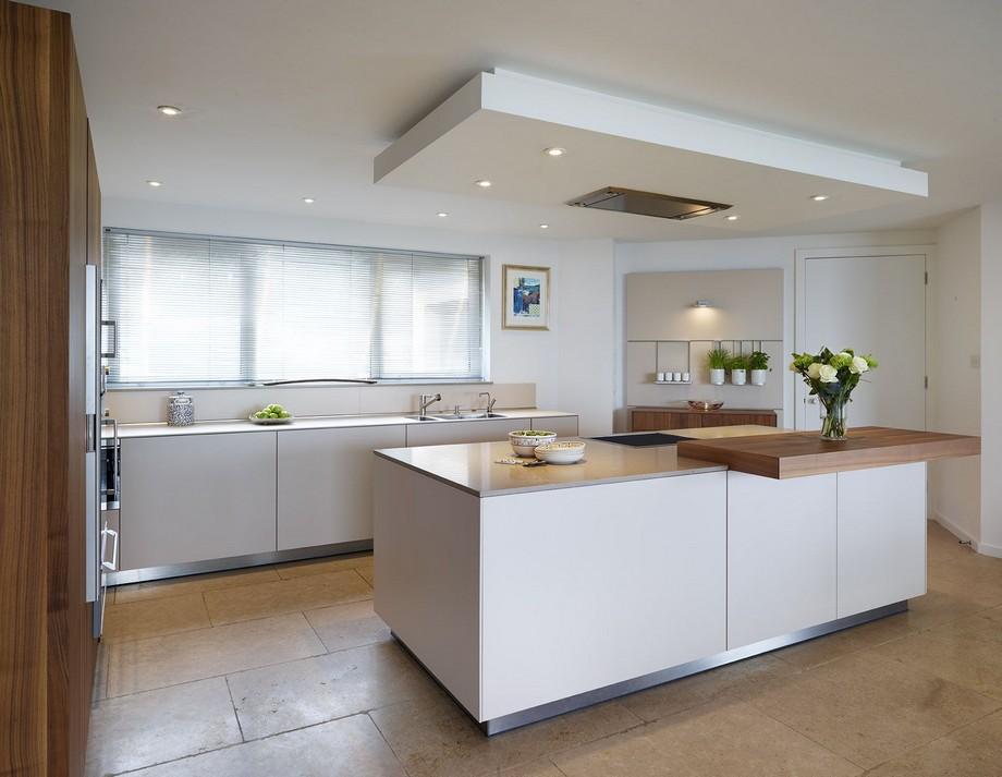 trần thạch cao phòng bếp đang được ưa chuộng nhất hiện nay