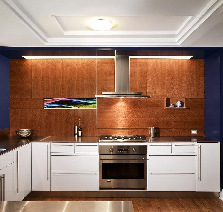Trần thạch cao giật cấp cho phòng bếp