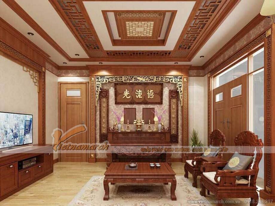 Mẫu phòng thờ đẹp