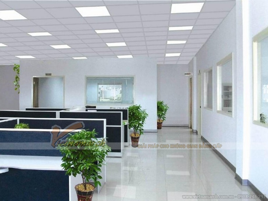 Rất nhiều công ty hiện nay sử dụng kỹ thuật trần thạch cao nổi để bảo vệ không gian khỏi ẩm mốc, hư hỏng