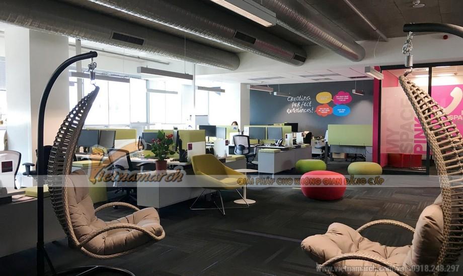 Trang trí văn phòng bằng cách sắp xếp nội thất văn phòng: bàn ghế văn phòng