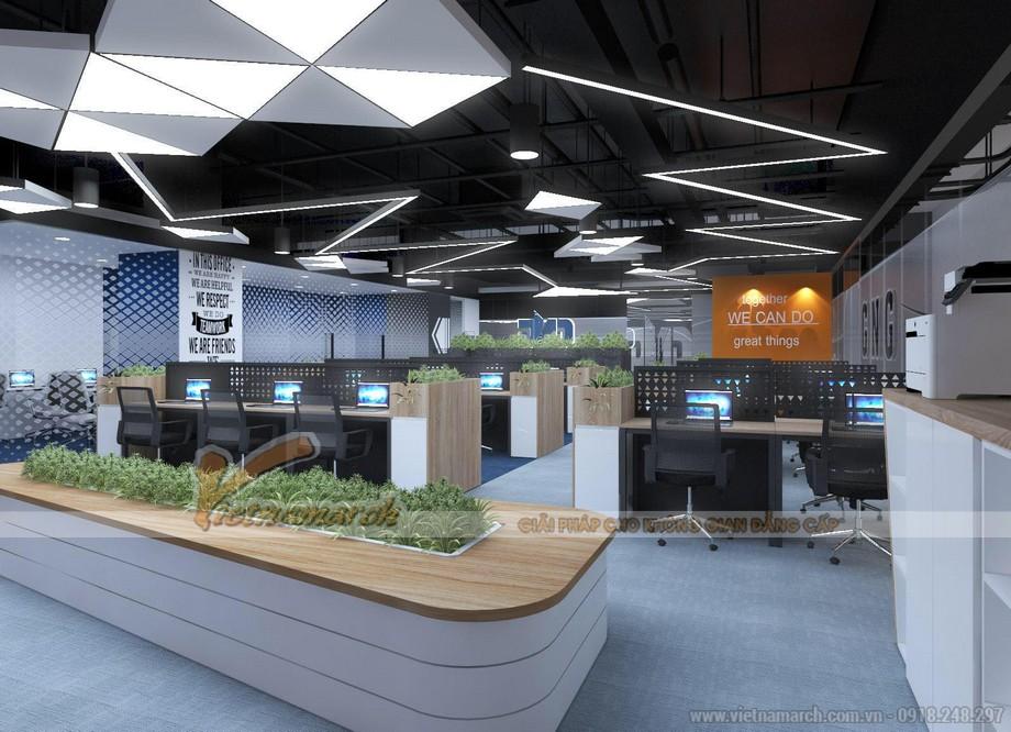 Thiết kế nội thất văn phòng GNG