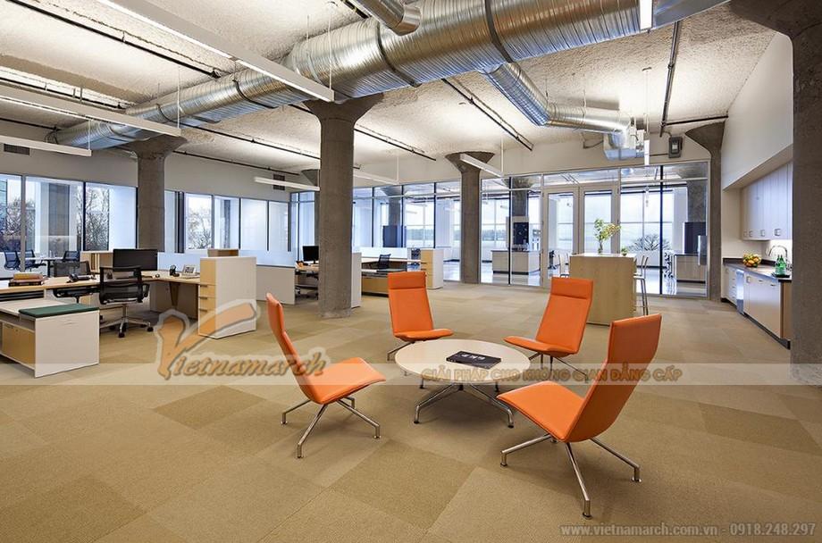 Mẫu thiết kế văn phòng mở