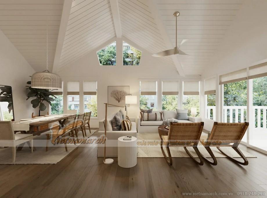 Thiết kế nội thất nhà ống, nhà lô phố với phong cách Scandinavian Decor