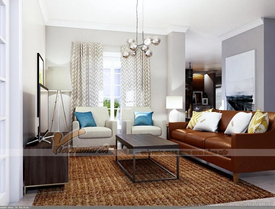 Thiết kế nội thất nhà phố thoải mái, mộc mạc