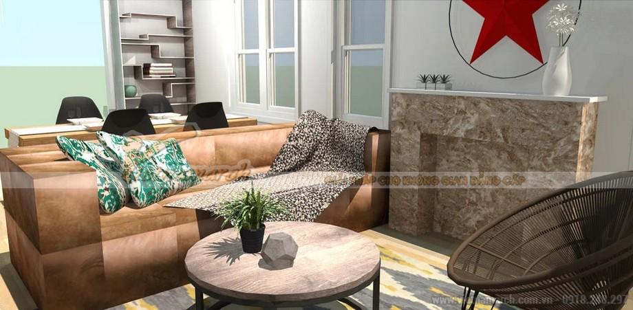 Thiết kế nội thất nhà lô phố với phong cách Bohemian