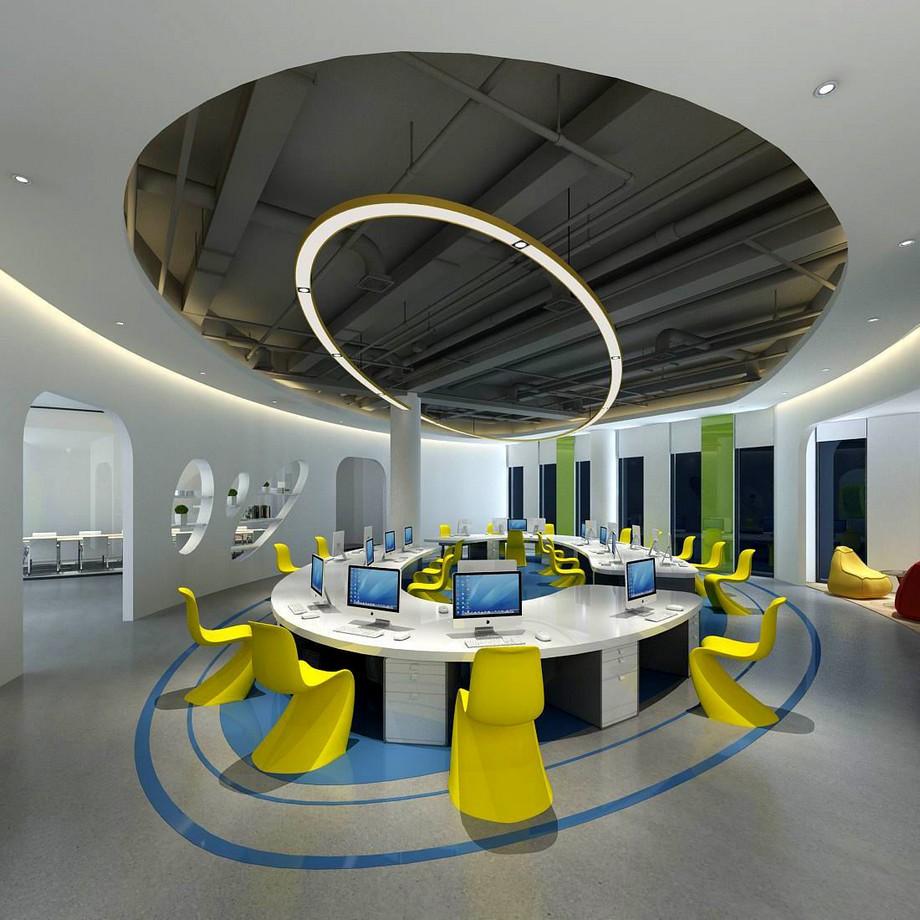 Mẫu thiết kế văn phòng hiện đại, tiện nghi
