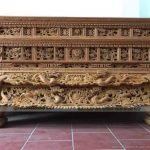 Sập thờ hai dạ: mẫu bàn thờ sang trọng dành riêng cho không gian rộng