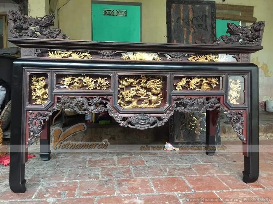 Mẫu bàn thờ ô xa cổ
